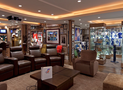 the march madness of man caves