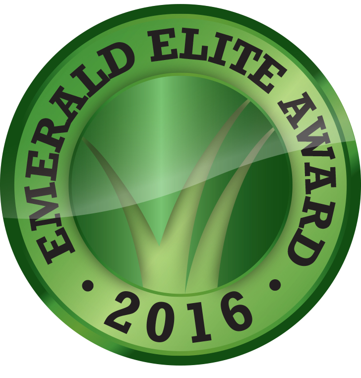 2016 Emerald Elite Award